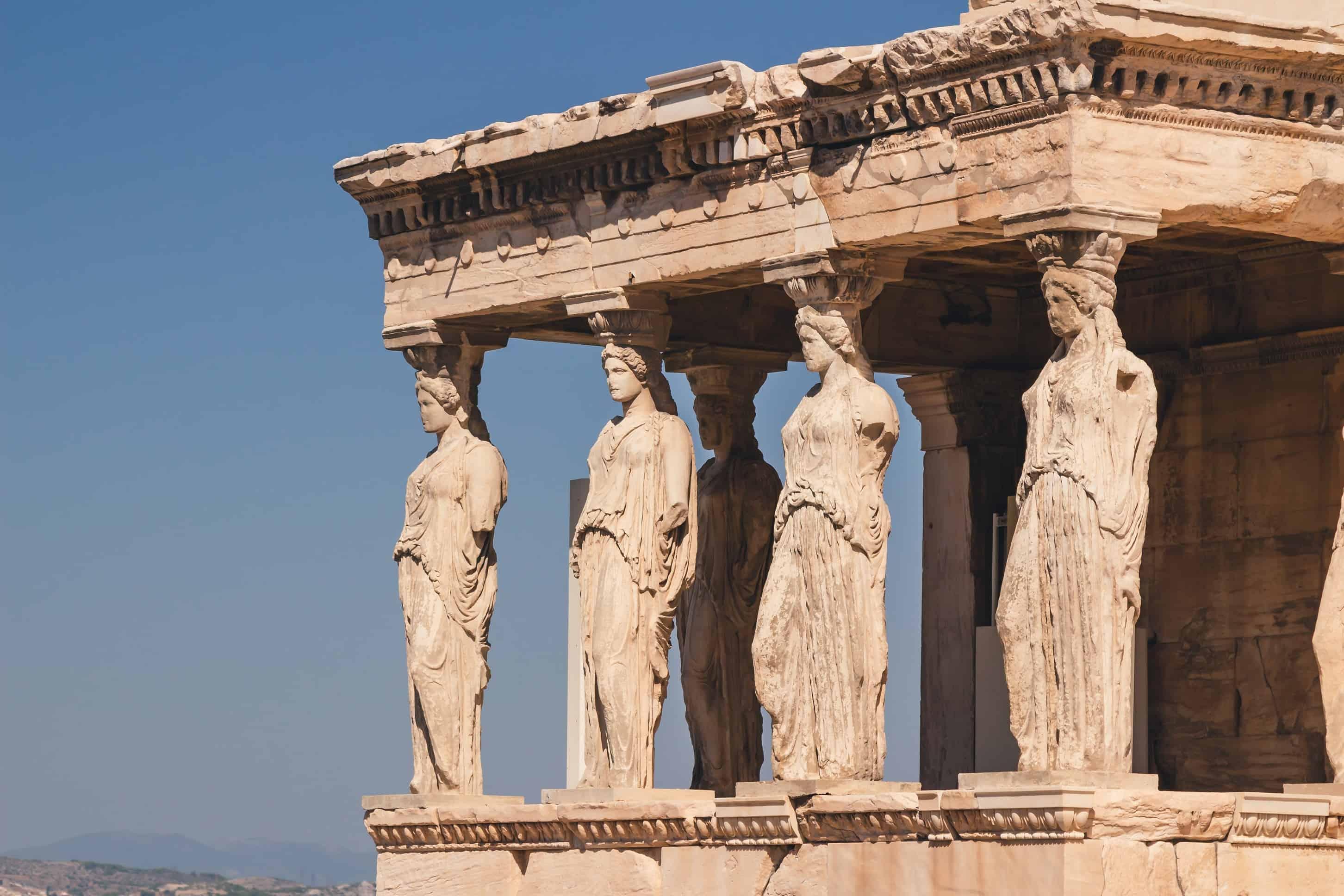 Acropole - Atena cu un copil mic